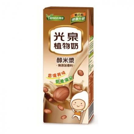 光泉植物奶醇米漿200ml*6入