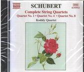 【正版全新CD清倉 4.5折】Kodaly Quartet - Schubert: String Quartets Nos. 1, 4, 8