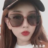 GM墨鏡女防紫外線眼鏡新款街拍太陽鏡男士圓臉ins韓版網紅 雙十二全館免運