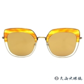 Kaffeine 咖啡因 Blue Mountain1 C5 (透棕-黃) 韓國設計 太陽眼鏡 水銀 久必大眼鏡