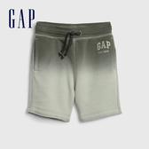 Gap男幼童 Logo漸層鬆緊短褲 542387-沙漠耆色