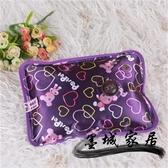 熱水袋充電 絲光布暖手寶 電熱水袋 新款充電熱寶 燙手型電暖寶 防爆暖水袋