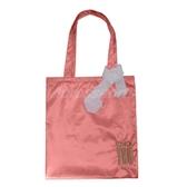 Puma 托特包 Do You Bag 購物袋 基本款 肩背包 側背 緞面 粉紅 金 緞帶【PUMP306】 P0002