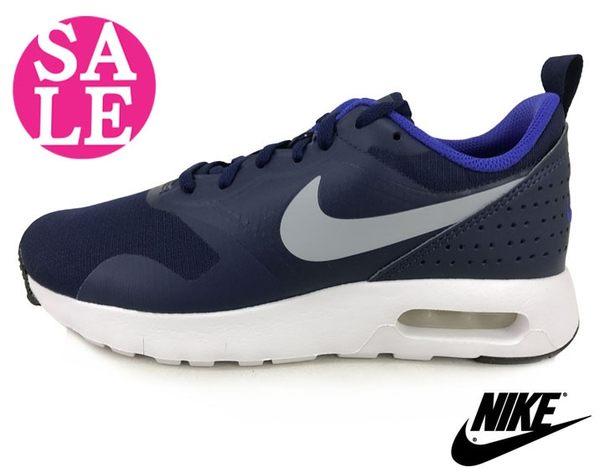 Nike 大童慢跑鞋 (女段) Air Max Tavas (GS) 氣墊 透氣舒適 輕量運動鞋 N7059#藍色 零碼出清
