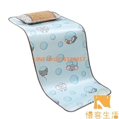 嬰兒床涼席寶寶冰絲新生兒席子兒童涼席幼稚園藤席午睡夏季【慢客生活】