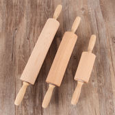 大號滾軸搟面棍櫸木壓面棍實木搟面杖壓餃子