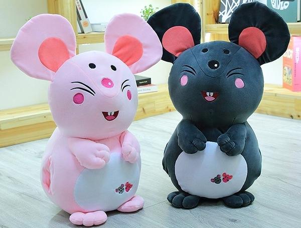 【60公分】卡通可愛鼠娃娃 睡覺抱枕 玩偶 聖誕節交換禮物 生日禮物 兒童節禮物 鼠年行大運
