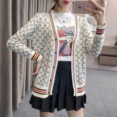 VK精品服飾 韓系學院風修身慵懶風單品外套