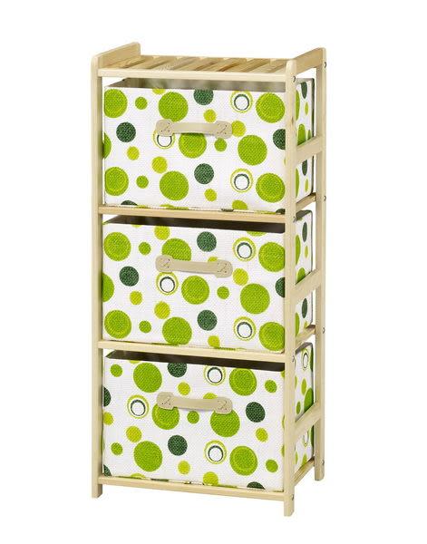 【藝匠】小博士樟子松松木三抽收納櫃 家具 組合櫃 廚具 收藏 置物櫃 櫃子 小櫃子 實木