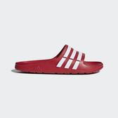 ADIDAS Duramo Slide [G15886] 男女 運動 涼鞋 拖鞋 休閒 舒適 輕量 愛迪達 紅