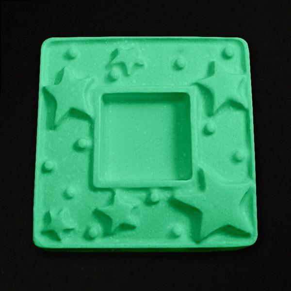 【香草工房】 塑膠模~星星方框