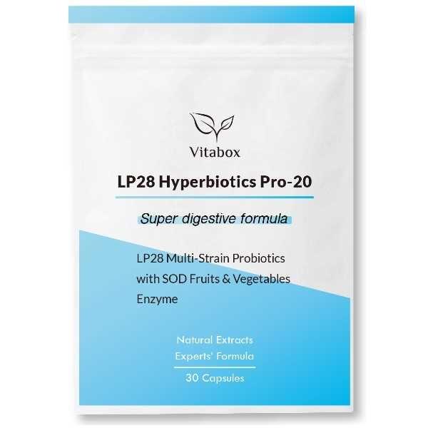 LP28高纖超有感順暢複合8益生菌+SOD蔬果酵素(30粒)【Vitabox 維他盒子】買多更優惠