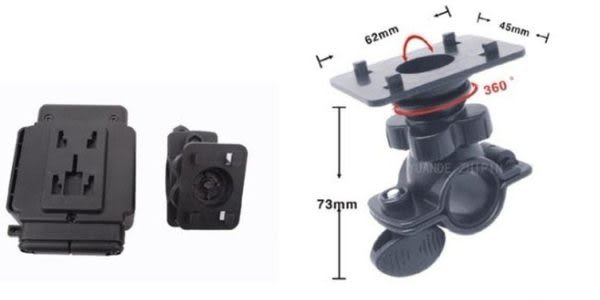 【Jenny 3c】機車 四腳支架/4爪支架/行車紀錄器專用/自行車/摩托車/支架/適用F500/F900/Carcam P5000