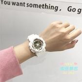 兒童手錶 立體刻度果凍電鑽手錶女韓版糖果色中學生韓版簡約潮流 10色