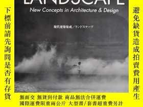 二手書博民逛書店LANDSCAPE罕見New Concepts in Architecture & Desig 建築設計中的景觀新