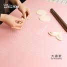 揉麵墊 擀麵板 加厚硅膠揉麵墊家用硅膠墊和麵墊麵板搟麵墊案板塑料T