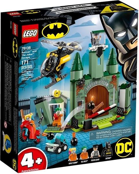 樂高LEGO Super Heroes 超級英雄 DC  蝙蝠俠 vs 逃跑小丑 76138 TOYeGO 玩具e哥