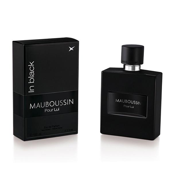 【即期品】MAUBOUSSIN Pour Lui In Black 夢寶星黑色絕對男性淡香精 100ml