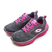 LIKA夢 LOTTO 雙密度輕量美體健步鞋 EASY WALK 系列 灰桃紅 0678 女