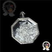 八角水晶能量寶瓶 3.9*1.3*5公分【十方佛教文物】