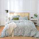 床包薄被套組 雙人 天絲 萊塞爾 山荷葉[鴻宇]台灣製2130