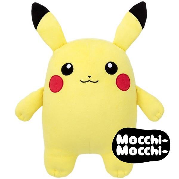 皮卡丘 胖胖娃娃 玩偶 超舒服觸感 Mocchi-Mocchi 日本正品 寶可夢 該該貝比日本精品 ☆