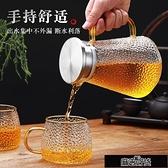 茶具加厚耐高溫玻璃水壺家用防爆涼白開水壺大容量果汁冷熱