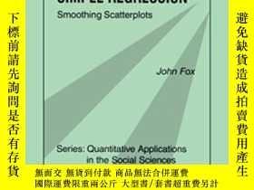 二手書博民逛書店Nonparametric罕見Simple Regression-非參數簡單回歸Y436638 Dr. Joh