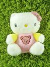 【震撼精品百貨】Hello Kitty 凱蒂貓~KITTY絨毛娃娃-粉黃造型