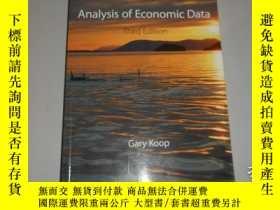 二手書博民逛書店Analysis罕見of Economic Data 英文原版Y