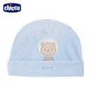 chicco-北極小熊-繡圖反折嬰兒帽