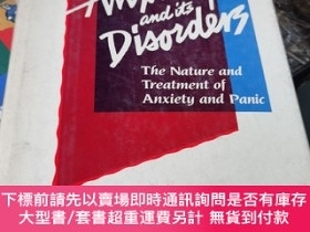 二手書博民逛書店anxiety罕見and its disorders:the nature and treatment of an