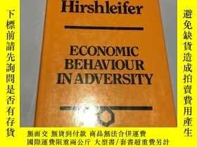 二手書博民逛書店economic罕見behaviour in adversity(逆境中的經濟行為)Y237539 Jack
