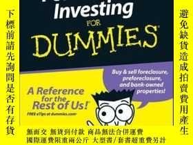 二手書博民逛書店Foreclosure罕見Investing For DummiesY410016 Ralph R. Robe