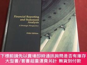 二手書博民逛書店financial罕見reporting and statement analysisY237539 Stic