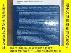 二手書博民逛書店英文書Advances罕見in Educational Administration Volume11 精裝 共4