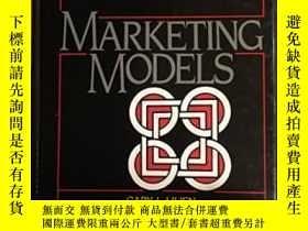 二手書博民逛書店Marketing罕見Models-營銷模式Y436638 Gary L. Lilien; P... Pren