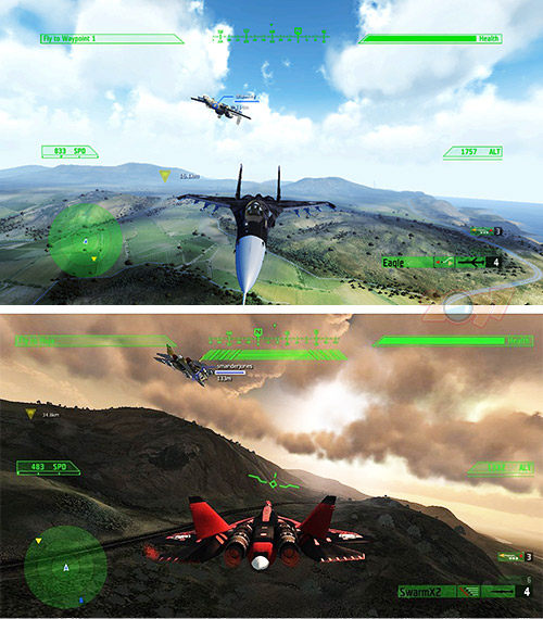 PS3 JASF 簡氏JANE'S先進攻擊戰鬥機空戰-英文美版-