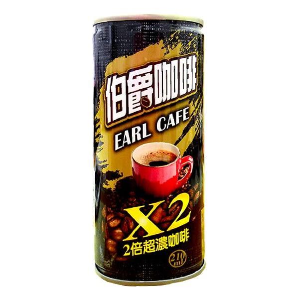 伯爵咖啡 2倍超濃咖啡 210ml