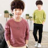 童裝男童長袖T恤春秋裝新款中大童上衣韓版純棉兒童打底衫潮 莫妮卡小屋