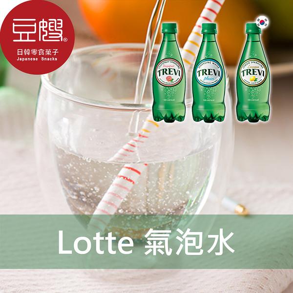 【豆嫂】韓國飲料 LOTTE 樂天氣泡水(500ml)