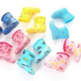 618好康又一發兒童雨靴低筒寶寶雨鞋卡通可愛男女小孩防滑水鞋幼兒園水鞋