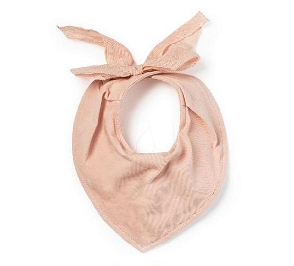 瑞典Elodie Details 嬰幼兒口水巾- Powder Pink 粉嫩公主