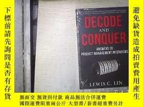 二手書博民逛書店Decode罕見And Conquer (未開封)。Y18089