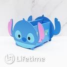 ﹝迪士尼旋轉盒﹞正版 旋轉盒 筆筒 收納盒 置物盒 木櫃 史迪奇〖LifeTime一生流行館〗