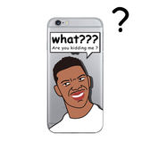 iPhone手機殼  [鐵盒精裝版]。 可掛繩 原創湖人隊Nick搞笑了 矽膠軟殼 蘋果iPhone8/iPhone7 6Plus手機殼