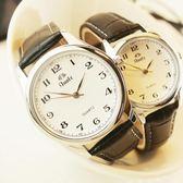 超薄手錶 男士皮帶韓版女士錶防水學生石英錶夜光情侶腕錶 交換禮物 生日禮物