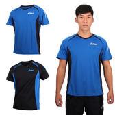 ASICS 男運動排汗短袖T恤 (免運 慢跑 跑步 亞瑟士≡排汗專家≡