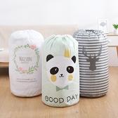棉被袋 收納袋 打包袋 搬家  換季收納 被單 玩具收納 束口圓筒棉被收納袋 ✭米菈生活館✭【M123】
