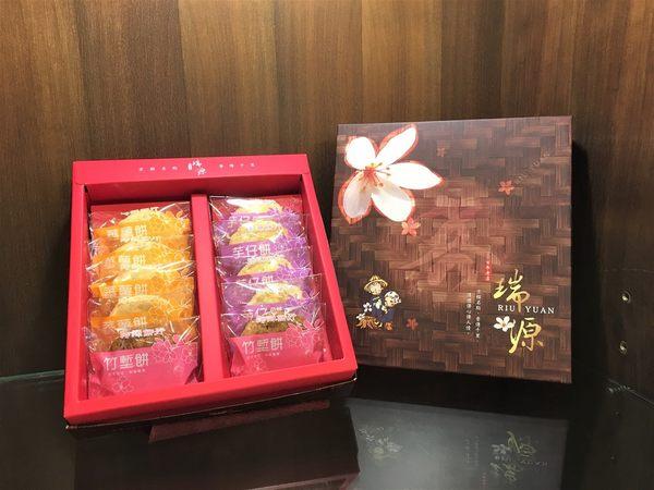 《瑞源餅店》新竹北埔名產伴手禮 【芋仔餅、蕃薯餅、竹塹餅】 10入/盒 (葷)